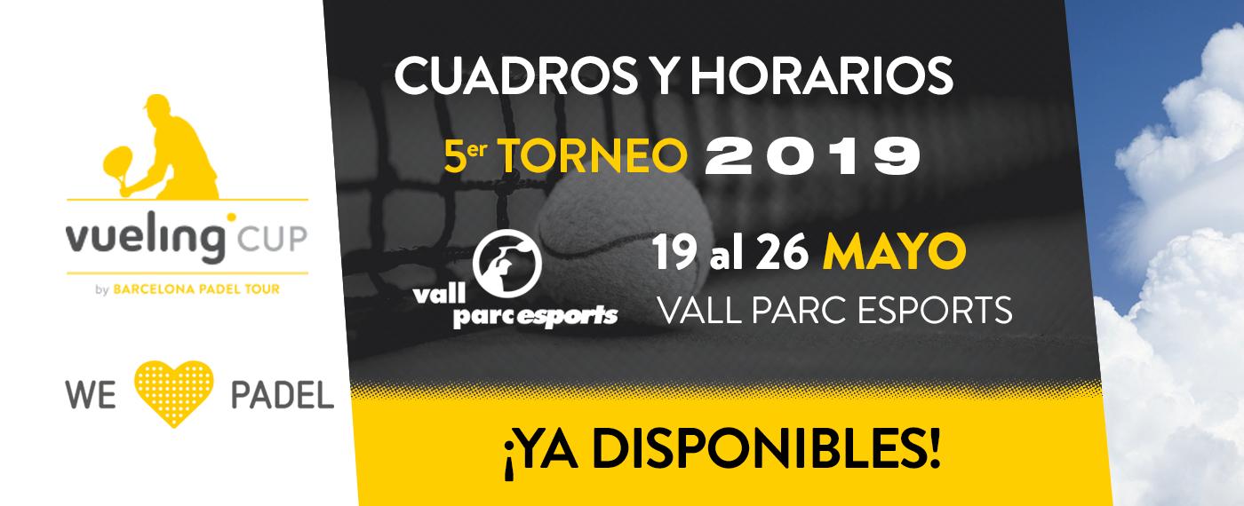 5º TORNEO VUELING CUP 2019