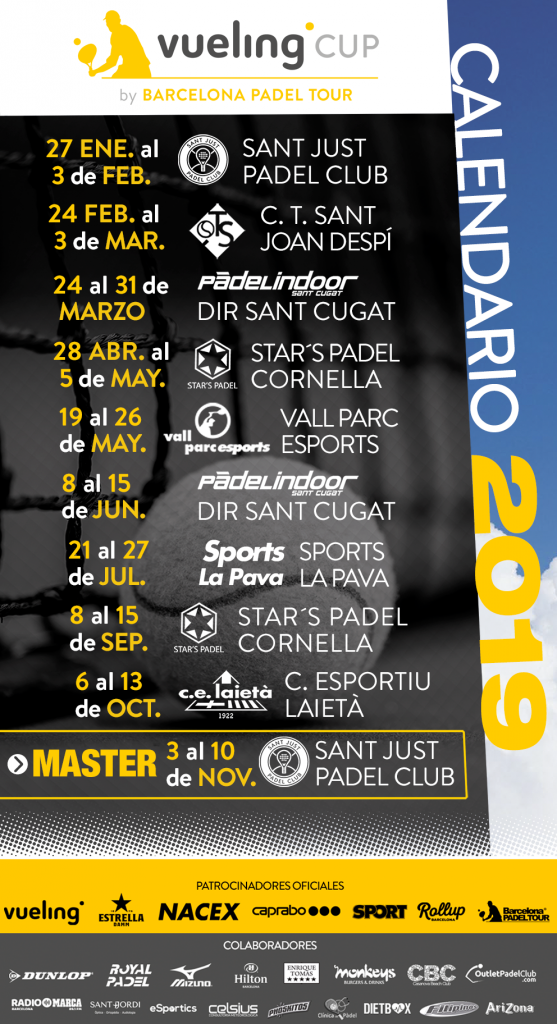 Calendario Del Barcelona.Calendario Vueling Cup 2019