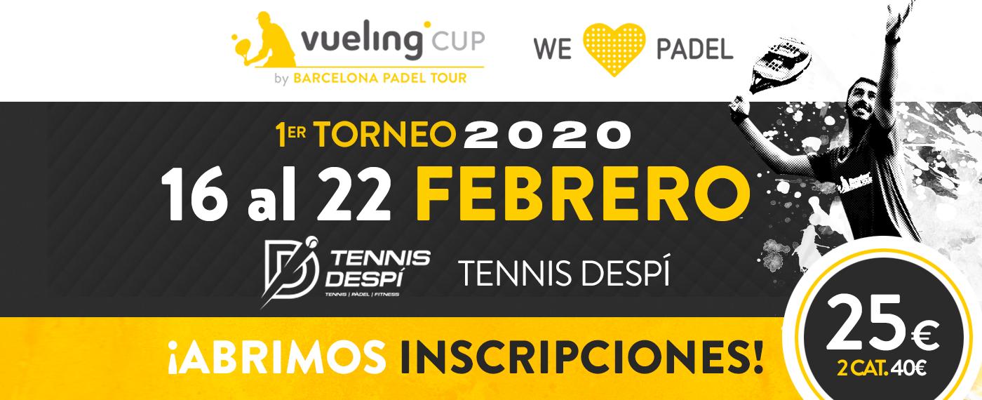 1º TORNEO VUELING CUP 2020