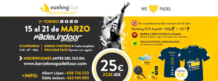 2º TORNEO VUELING CUP 2020