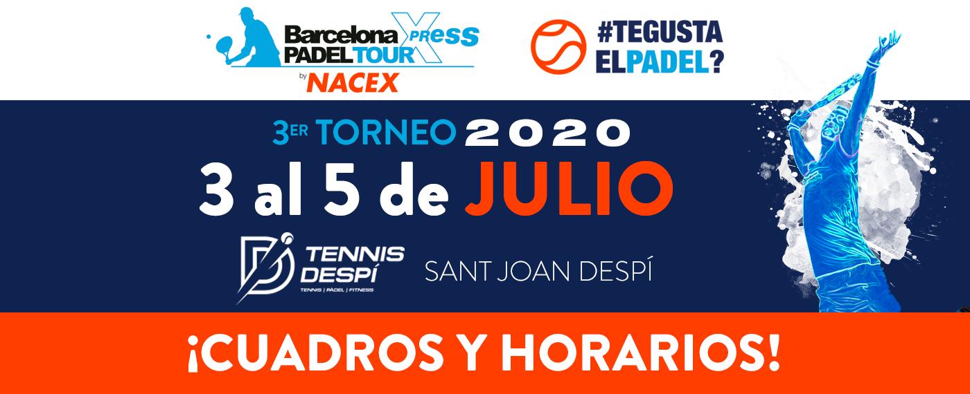 3º TORNEO BPT Xpress by NACEX 2020