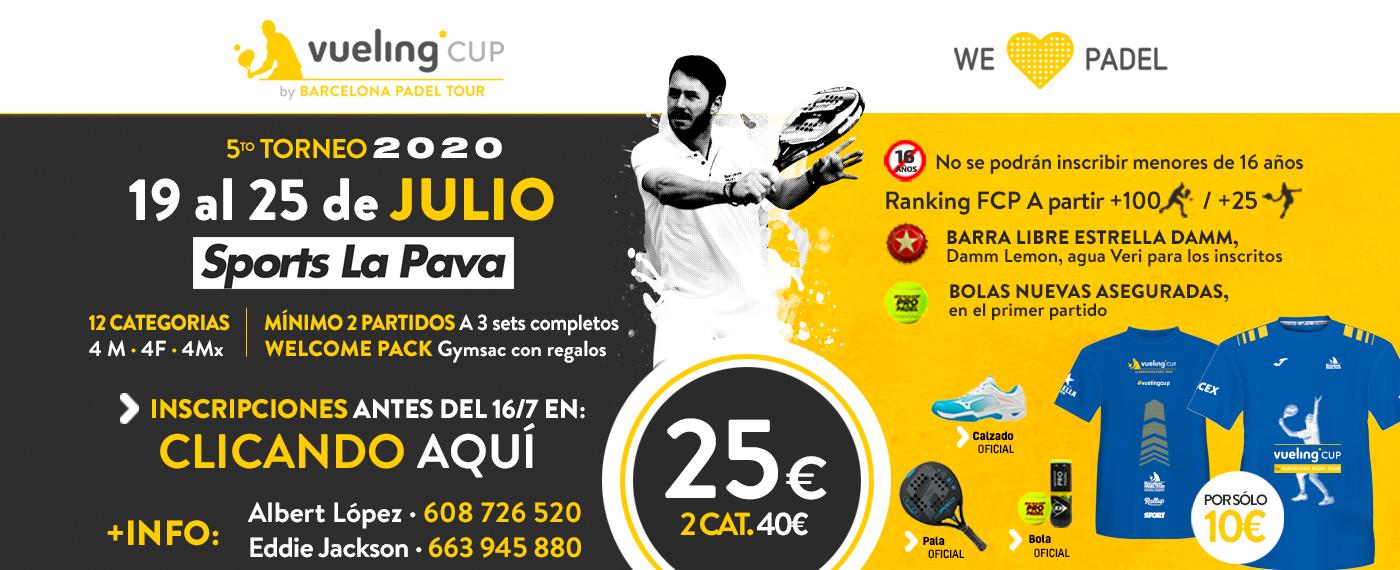 5º TORNEO VUELING CUP 2020