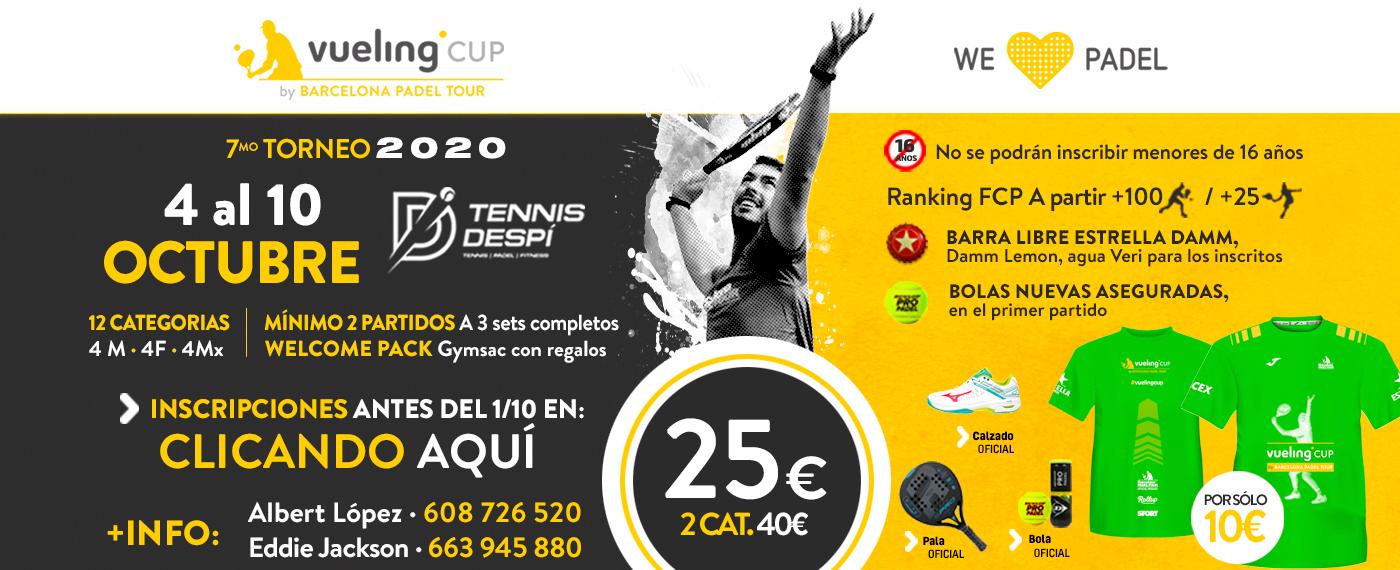 7º TORNEO VUELING CUP 2020